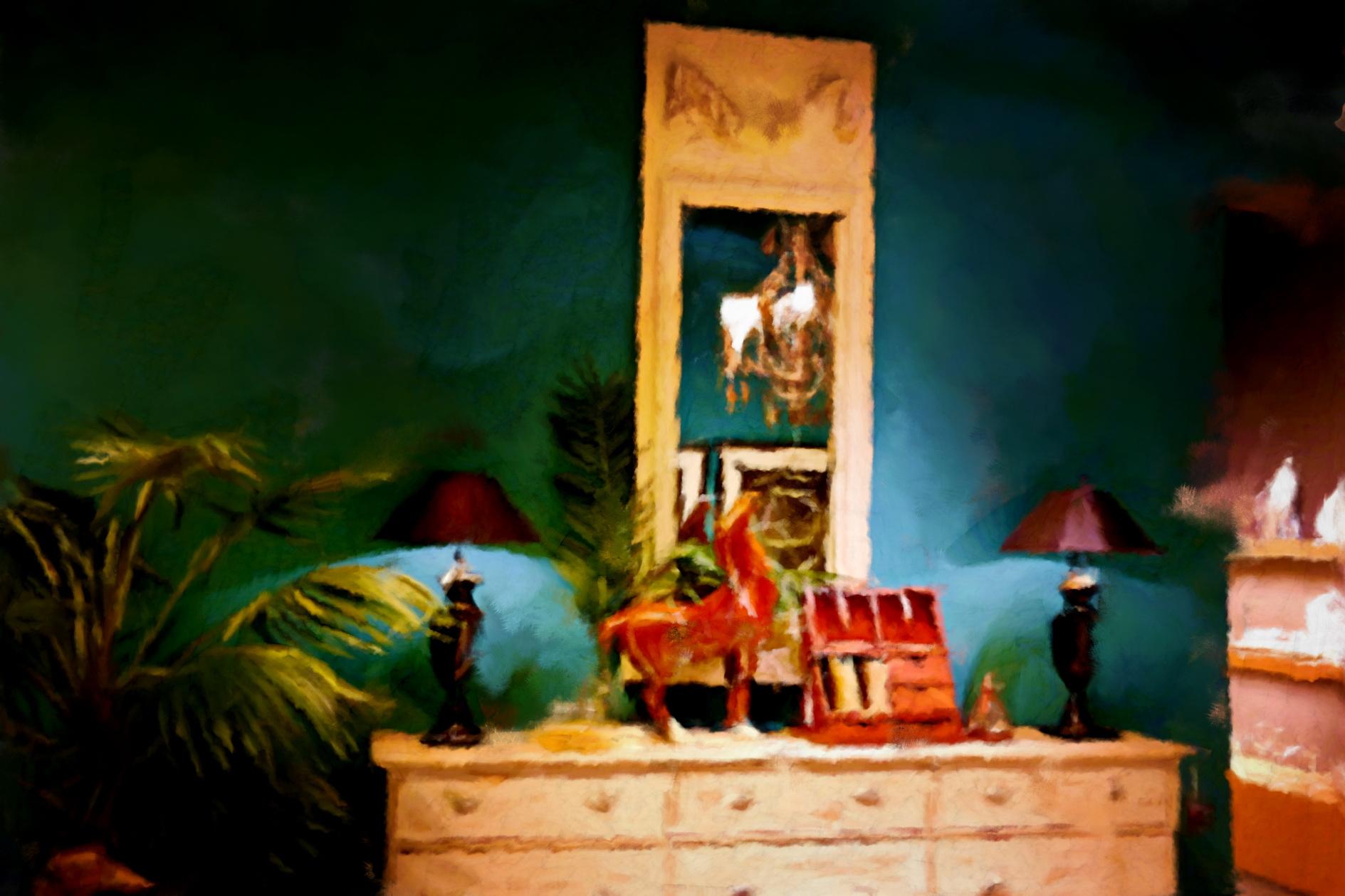 Ambiance Flamant Decoration, peinture de Laure Van De Meele