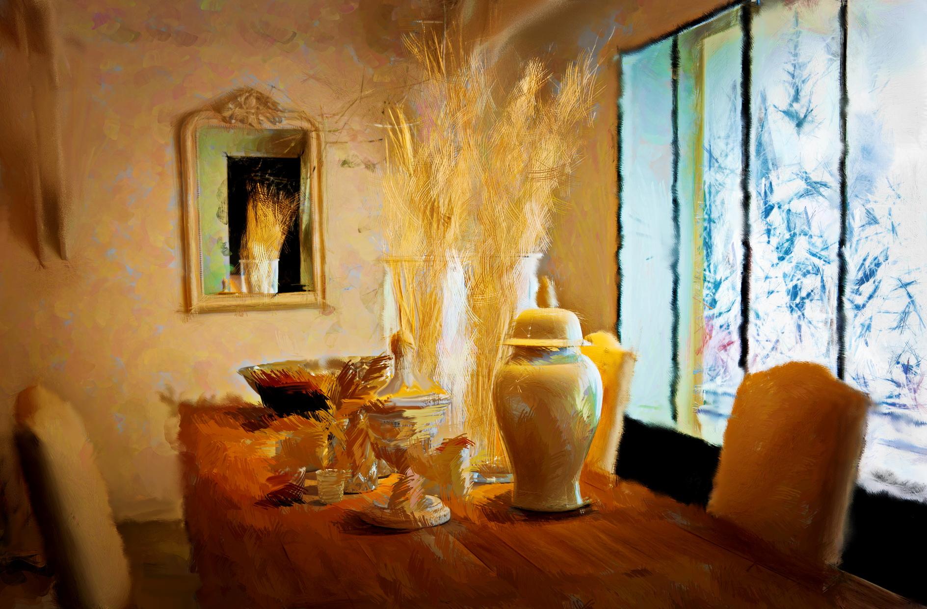 Schilderij_Winter_door_Laure_Van_De_Meele_geïnspireerd_door_Flamant_Interiors