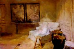 Lichte sfeer bij Flamant interiors, door de kunstenaar Laure Van De Meele