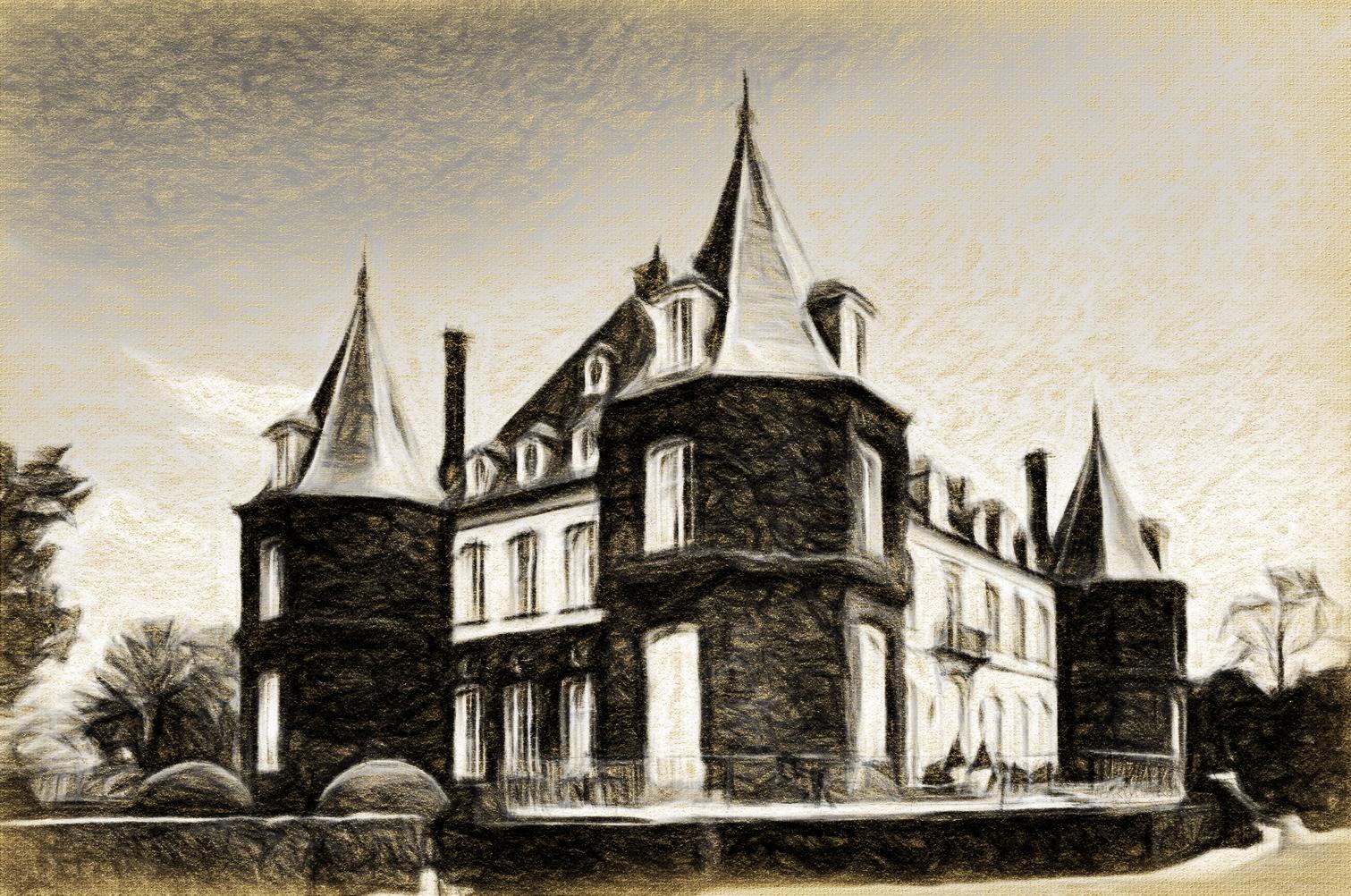 Laure_Van_De_Meele_photo_stylisée_du_Château_de_la_Hulpe_B