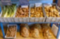 Magasin de la ferme de la Chapelette, variétés de pommes de terre, belgique