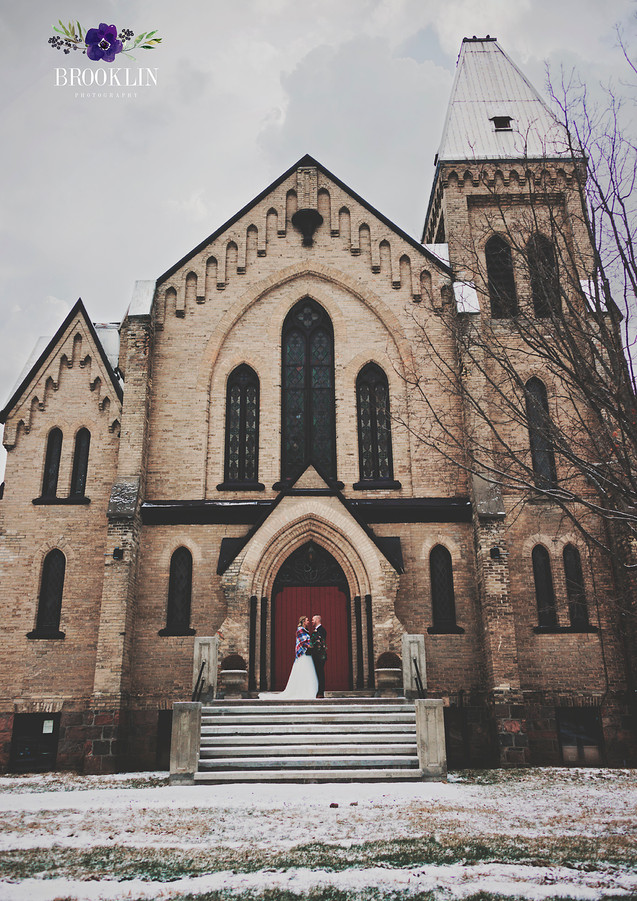 Millbrook Cathedral Winter Wedding
