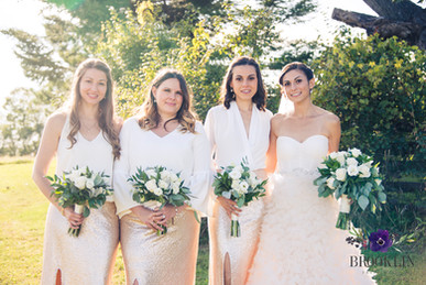 Summer bridesmaids