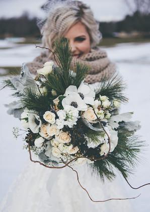 Winter Wedding at Deer Creek Golf and Banquet Facilities