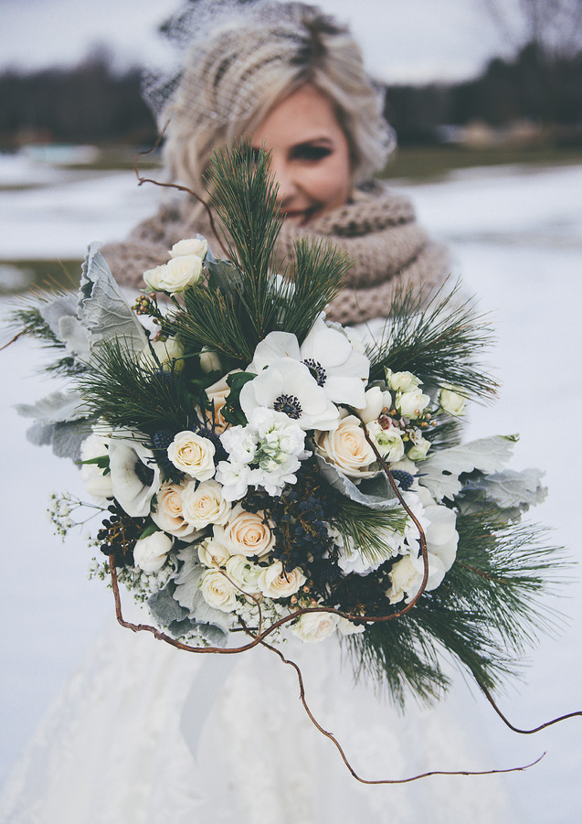 Winter Wedding at Deer Creek Golf and Banquet Facilities