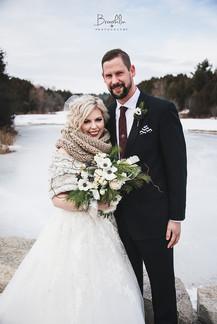 #DurhamRegionWeddingPhotographer  #DeerCreekWeddings #winterwedding #brooklinphotography #torontoweddingphotograper