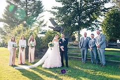 Summer bridal party
