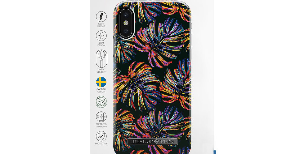 iDeal Of Sweden iPhone X/Xs Fashion Case S/S 2018, Neon Tropical
