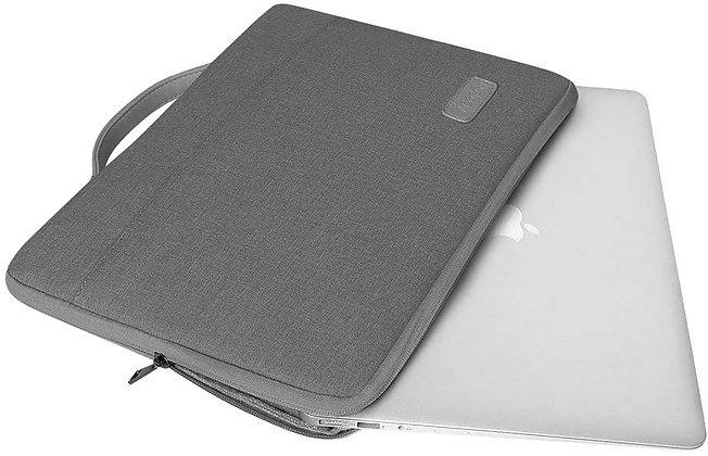 MacLink Bundle Macbook Pro 13-inch Neoprene Sleeve, Black/Grey