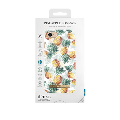 iDeal Of Sweden Fashion Case iPhone 8/7/6/6s Plus, Pineapple Bonanza
