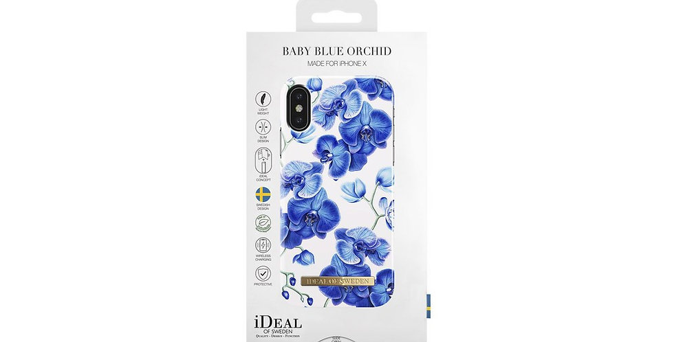 iDeal Of Sweden Fashion Case iPhone X, Baby Blue Orchid