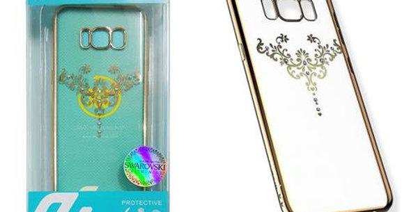 Devia Samsung Galaxy S8+ Crystal Soft Iris Case, Champagne Gold