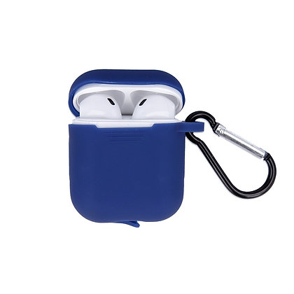 Devia AirPods Naked Silicone Case Suit, Dark Blue