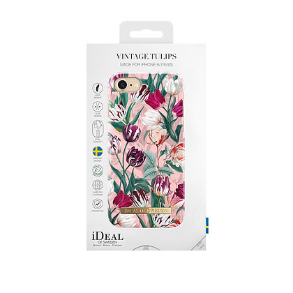 iDeal Of Sweden Fashion Case iPhone 8/7/6/6s, Summer, Vintage Tulips