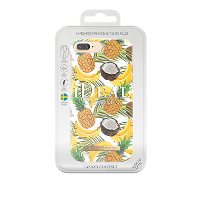 iDeal Of Sweden Fashion Case  iPhone 8/7/6s/6 Plus, Banana Coconut