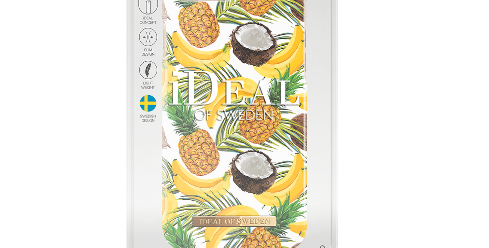 iDeal Of Sweden iPhone 8/7/6s/6 Plus Fashion Case, Banana Coconut