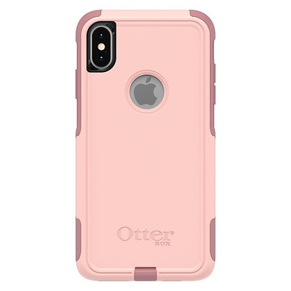 OtterBox Commuter Series iPhone Xs Max, Ballet Way (Pink/Blush)