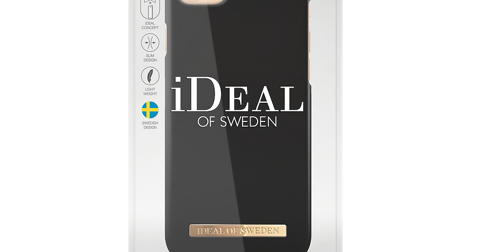 iDeal Of Sweden iPhone 8/7/6/6s Matte Black Case