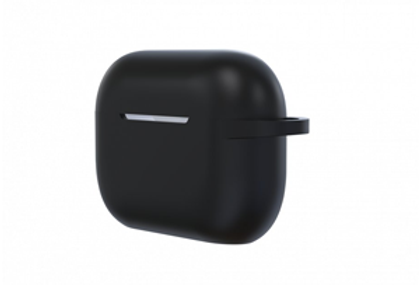 Devia AirPods Pro Naked Silicone Case Suit, Black