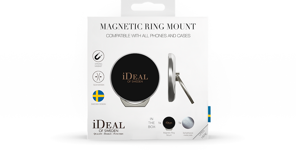 iDeal Of Sweden Universal Magnetic Ring Mount, Silver