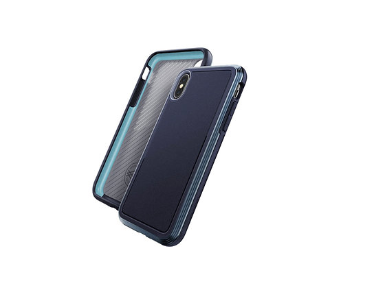 X-Doria iPhone Xs Defense Ultra, Midnight Blue
