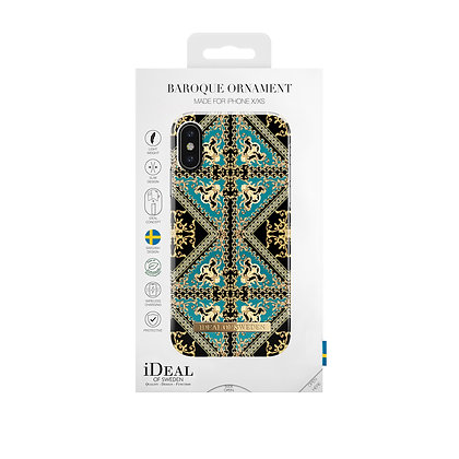 iDeal Of Sweden Fashion Case iPhone X/Xs, Baroque Ornament