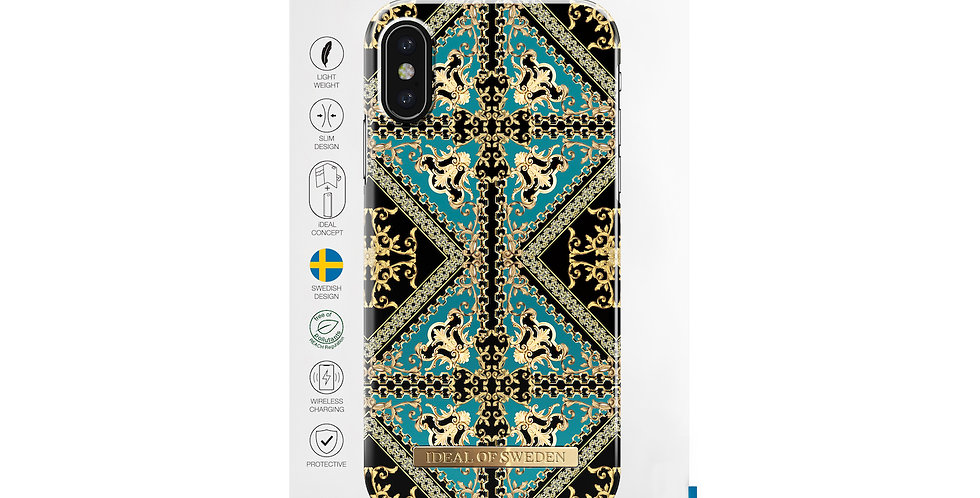iDeal Of Sweden iPhone X/Xs Fashion Case, Baroque Ornament