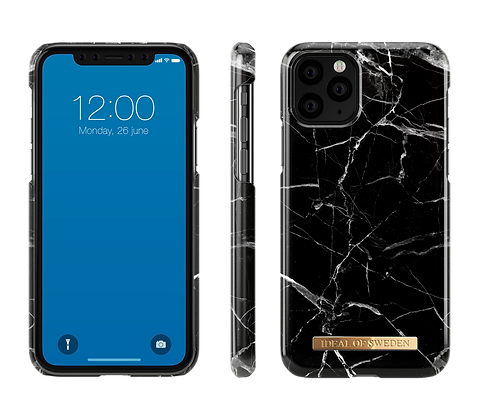 iDeal Of Sweden Fashion Case iPhone 11 Pro, Black Marble