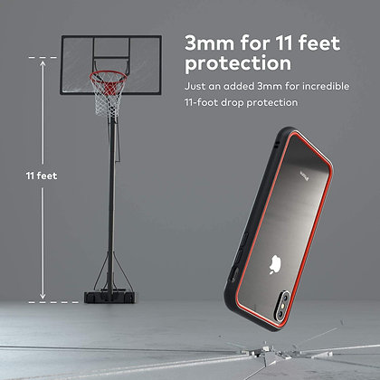 RhinoShield iPhone Xs Max CrashGuard NX, Graphite
