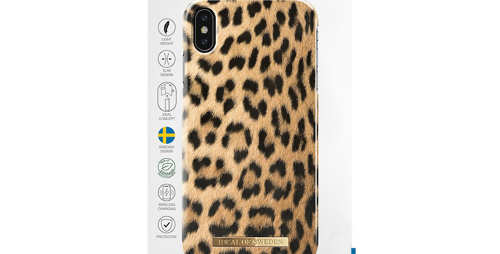 iDeal Of Sweden Fashion Case iPhone Xs Max, Wild Leopard