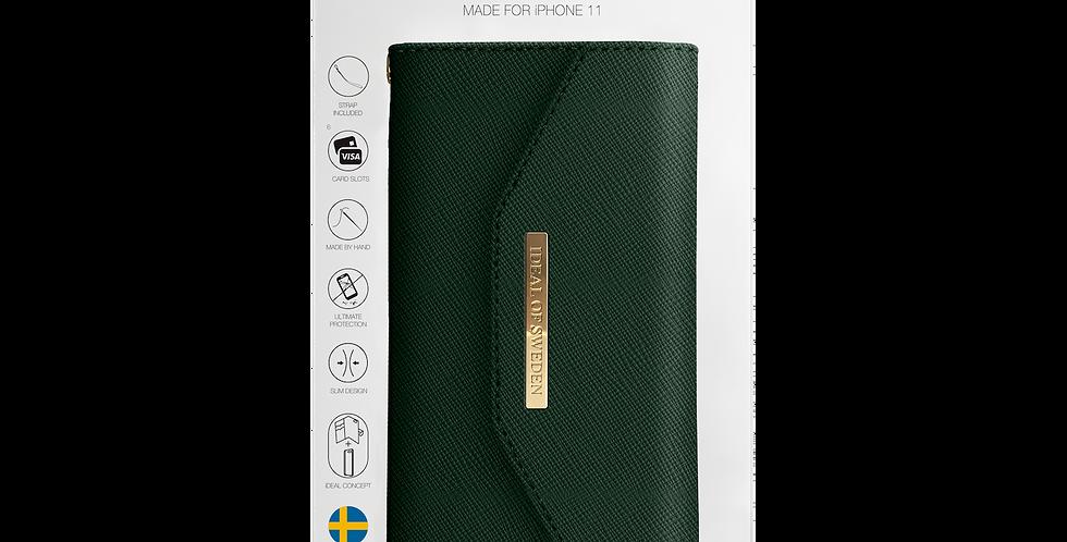 iDeal Of Sweden iPhone 11 Mayfair Clutch, Green