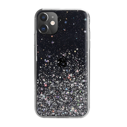 SwitchEasy iPhone 11 Starfield PC+TPU Case, Transparent Black