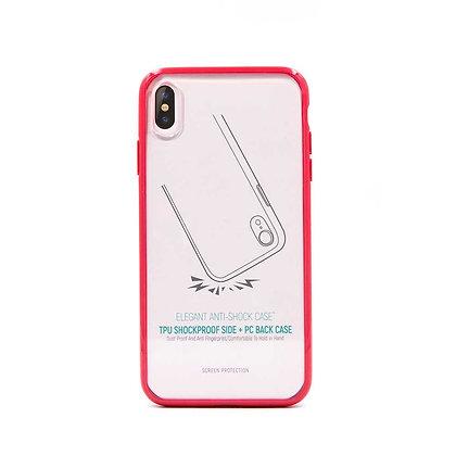 Devia iPhone Xs Max Elegant Anti-Shock Case, Red