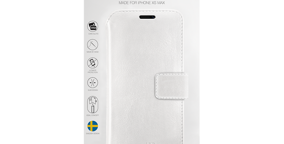 iDeal Of Sweden iPhone Xs Max STHLM Wallet, White