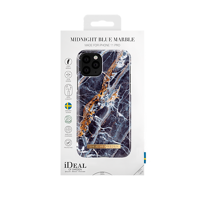 iDeal Of Sweden Fashion Case iPhone 11 Pro,Midnight Blue Marble