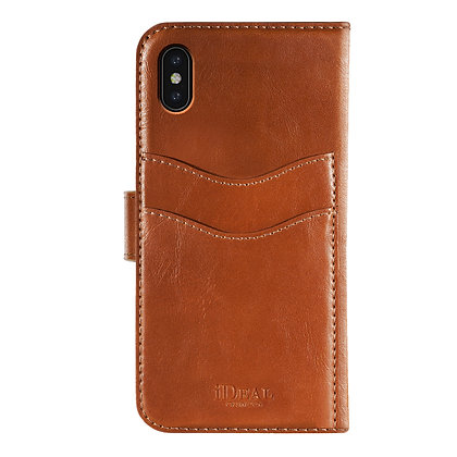 iDeal Of Sweden Magnet Wallet Plus iPhone Xs Max, Brown