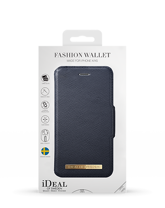 iDeal Of Sweden Fashion Wallet iPhone X/Xs, Navy