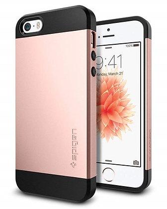 Spigen iPhone SE Slim Armor Series, Rose Gold
