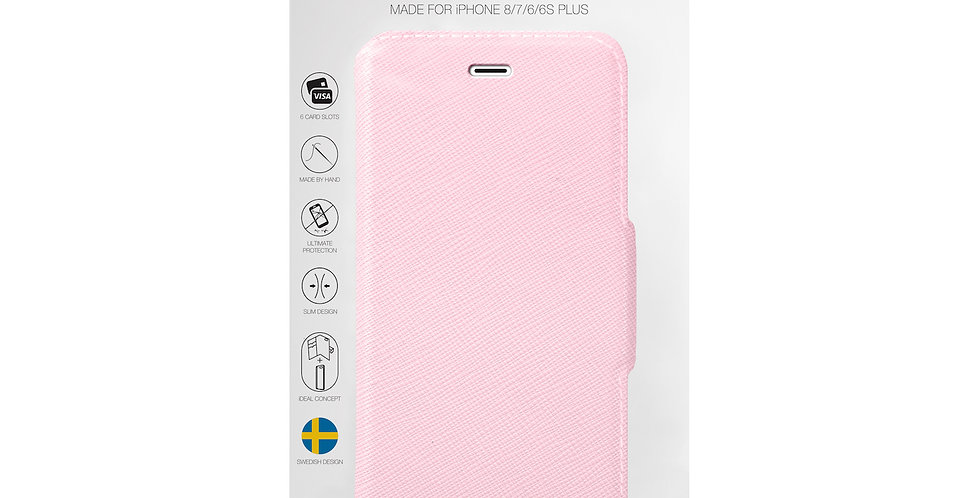 iDeal Of Sweden 8/7/6/6s Plus Fashion Wallet, Pink