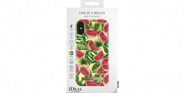 iDeal Of Sweden Fashion Case Summer iPhone X, One In A Melon