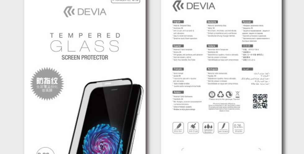 Devia iPhone 11 Pro Max Tempered Glass, Anti-Glare Black