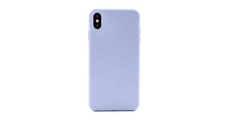 Devia iPhone Xs Ultra-Thin Silicone Case, Purple