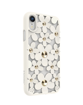 SwitchEasy iPhone XR Fleur TPU Case, White