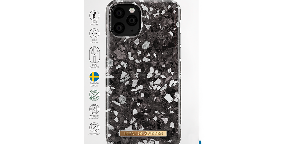iDeal Of Sweden 11 Pro Fashion Case, Midnight Terrazzo