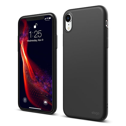Just Must iPhone XR Uniqio I Case, Black