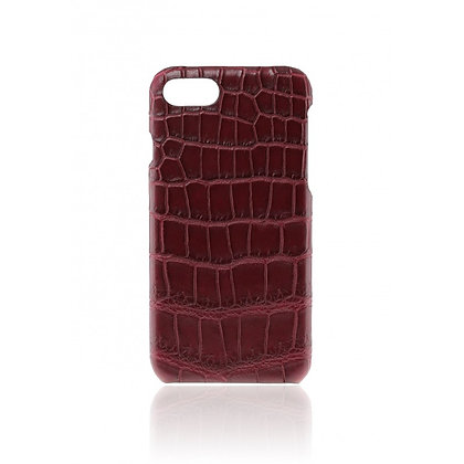 Comma iPhone 6s/6 Croco Genuine Leather Case, Brown