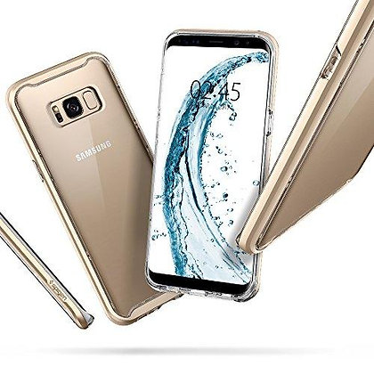 Spigen Samsung Galaxy S8 Plus Neo Hybrid Crystal, Maple Gold