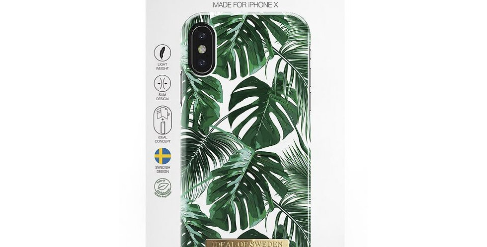 iDeal Of Sweden iPhone X/Xs Monstera Jungle iPhone X/Xs Case