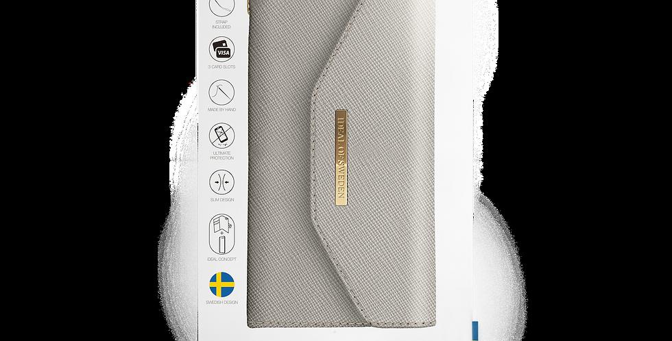 iDeal Of Sweden 8/7/6/6s Plus Mayfair Clutch, Light Grey