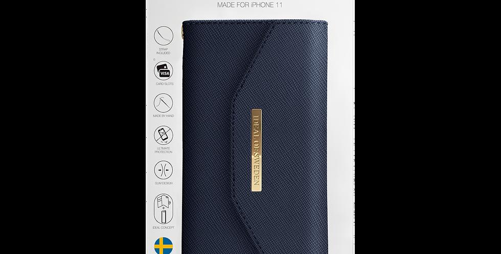 iDeal Of Sweden iPhone 11 Mayfair Clutch, Navy